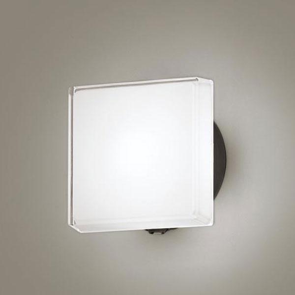 【送料無料】パナソニック LEDポーチライト センサ付 白熱球40W相当 昼白色 フラッシュ機能付 LGWC81327LE1
