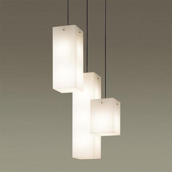 【送料無料】パナソニック LEDペンダントライト 高天井用 ~8畳用 白熱球60W×6灯相当 電球色 直付タイプ LGB19625B