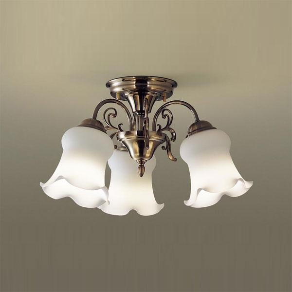 【送料無料】パナソニック LEDシャンデリア 白熱球40W×3灯相当 電球色 LGB57314K