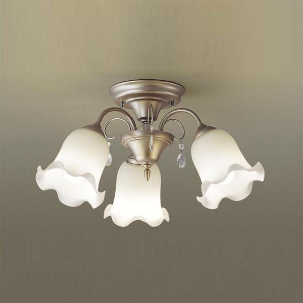 【送料無料】パナソニック LEDシャンデリア ~4.5畳用 白熱球60W×3灯相当 電球色 LGB57342K