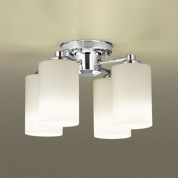 【送料無料】パナソニック LEDシャンデリア ~6畳用 白熱球50W×4灯相当 電球色 LGB57400K