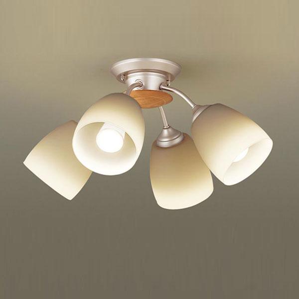 【送料無料】パナソニック LEDシャンデリア ~6畳用 白熱球50W×4灯相当 電球色 LGB57415K