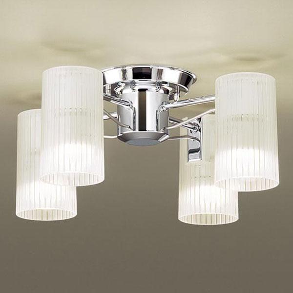 【送料無料】パナソニック LEDシャンデリア 白熱球40W×4灯相当 電球色 LGB57450K