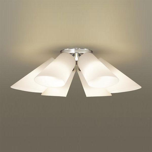 【送料無料】パナソニック LEDシャンデリア ~6畳用 白熱球40W×6灯相当 電球色 LGB57602K