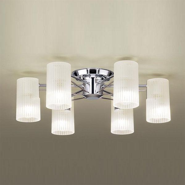 【送料無料】パナソニック LEDシャンデリア ~6畳用 白熱球40W×6灯相当 電球色 LGB57650K