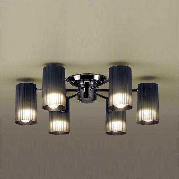 【送料無料】パナソニック LEDシャンデリア 白熱球40W×6灯相当 電球色 LGB57651K