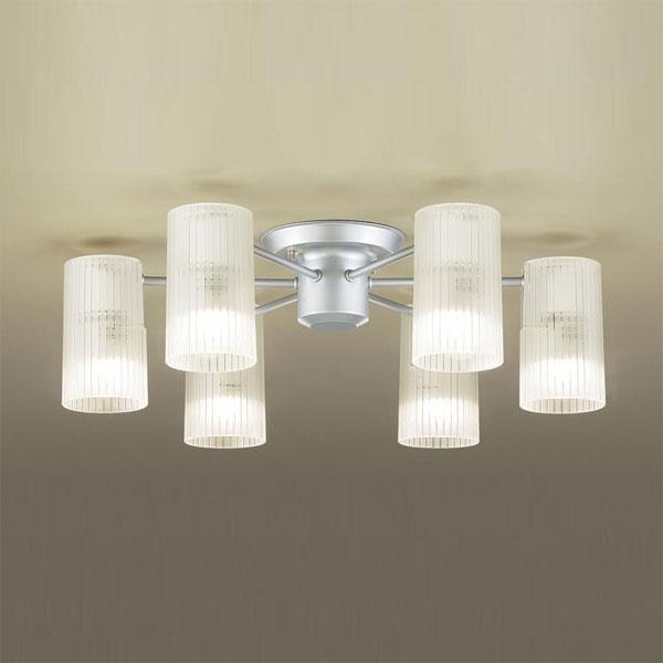 【送料無料】パナソニック LEDシャンデリア ~6畳用 白熱球40W×6灯相当 電球色 LGB57653K