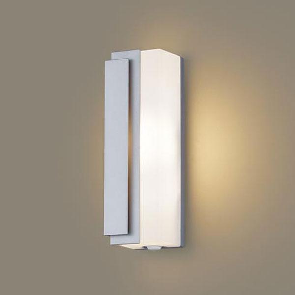 【送料無料】パナソニック LEDポーチライト センサ付 白熱球40W相当 電球色 左側遮光 フラッシュ機能付 LGWC81440LE1
