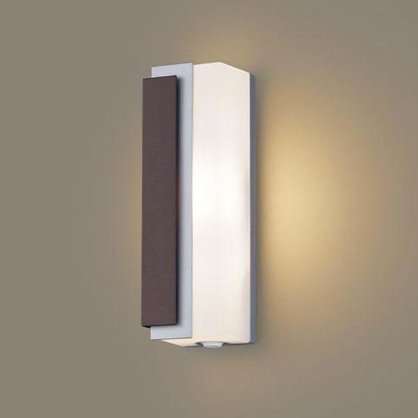 【送料無料】パナソニック LEDポーチライト センサ付 白熱球40W相当 電球色 左側遮光 フラッシュ機能付 LGWC81442LE1