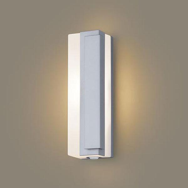 【送料無料】パナソニック LEDポーチライト センサ付 白熱球40W相当 電球色 右側遮光 フラッシュ機能付 LGWC81445LE1