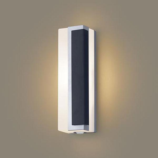 【送料無料】パナソニック LEDポーチライト センサ付 白熱球40W相当 電球色 右側遮光 フラッシュ機能付 LGWC81446LE1