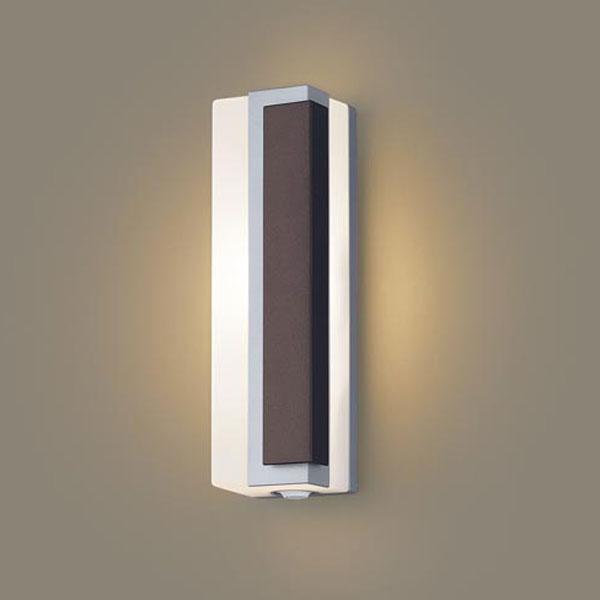 【送料無料】パナソニック LEDポーチライト センサ付 白熱球40W相当 電球色 右側遮光 フラッシュ機能付 LGWC81447LE1