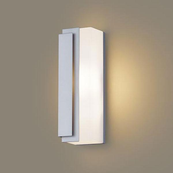 【送料無料】パナソニック LEDポーチライト 白熱球40W相当 電球色 左側遮光 LGW80440LE1