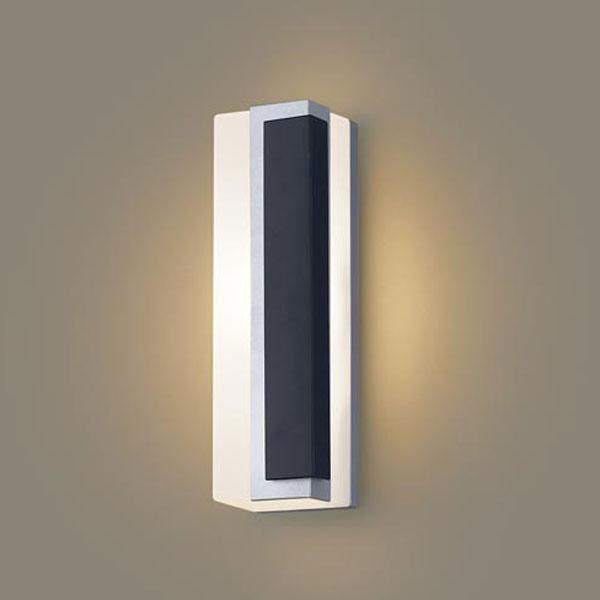 【送料無料】パナソニック LEDポーチライト 白熱球40W相当 電球色 右側遮光 LGW80446LE1