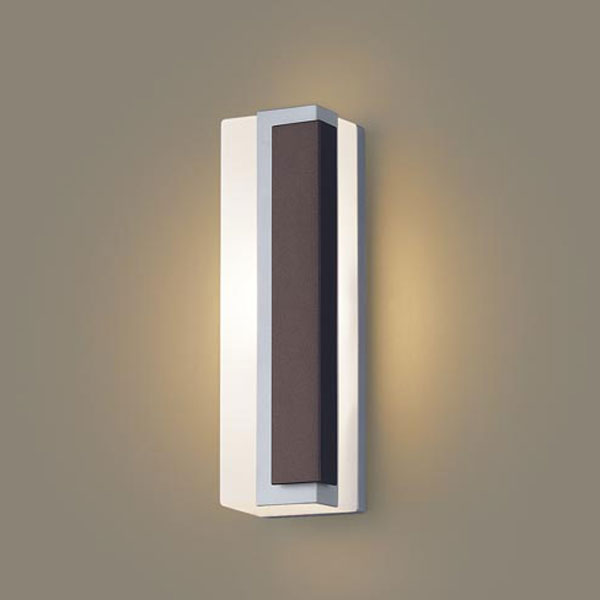【送料無料】パナソニック LEDポーチライト 白熱球40W相当 電球色 右側遮光 LGW80447LE1