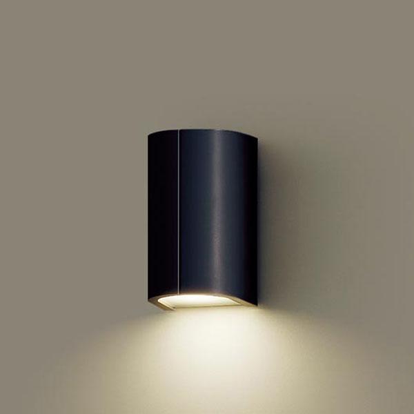 【送料無料】パナソニック LEDポーチライト 白熱球40W相当 電球色 LGW85030BK