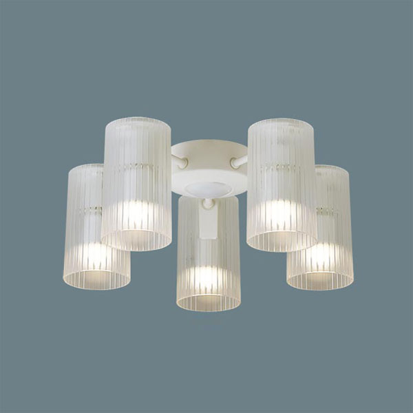 【送料無料】パナソニック LEDシャンデリア シーリングファン専用 ~10畳用 白熱球60W×5灯相当 電球色 SPL5512Z