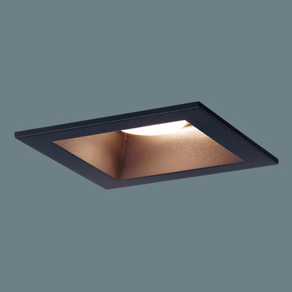 【送料無料】パナソニック LEDダウンライト 埋込穴□100 白熱球100W相当 昼光色~電球色 シンクロ調色・調光可能 拡散型 LGB71061LU1