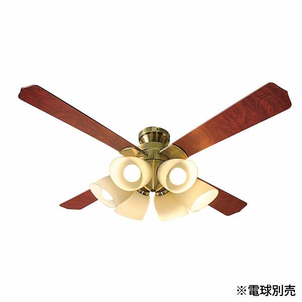 【送料無料】東京メタル シーリングファン ~8畳用 リモコン付 6灯 電球別売 QJ-46AB6RCND