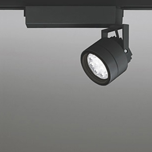 【送料無料】オーデリック LEDスポットライト CDM-T35W相当 3500K Ra85 配光角20° ブラック レール取付専用 XS256209