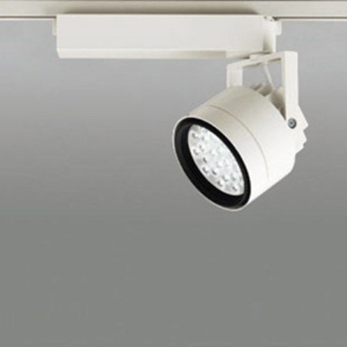 【送料無料】オーデリック LEDスポットライト CDM-T70W相当 3500K Ra85 配光角27° アイボリーホワイト レール取付専用 XS256230