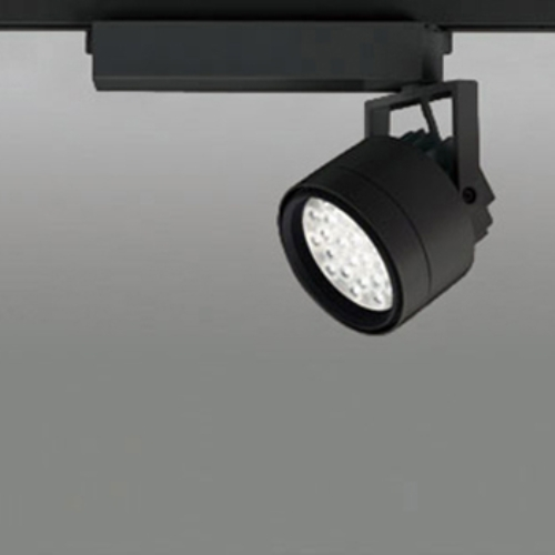 【送料無料】オーデリック LEDスポットライト CDM-T70W相当 3000K Ra85 配光角47° ブラック レール取付専用 XS256296