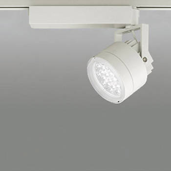 【送料無料】オーデリック LEDスポットライト CDM-T70W相当 鮮魚用 5000K Ra75 配光角32° アイボリーホワイト レール取付専用 XS256375