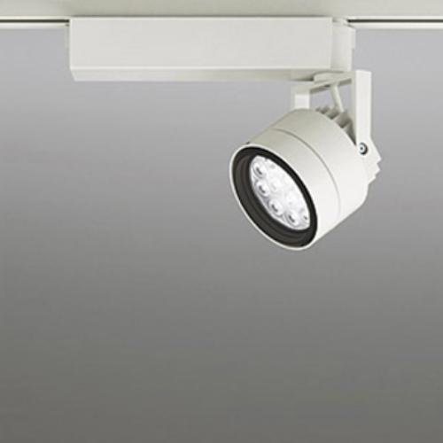 【送料無料】オーデリック LEDスポットライト CDM-T35W相当 3000K Ra85 配光角27° アイボリーホワイト レール取付専用 XS256157