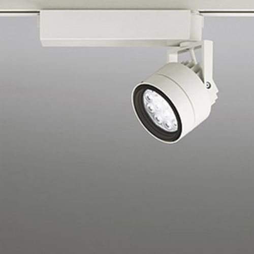 【送料無料】オーデリック LEDスポットライト CDM-T35W相当 4000K Ra85 配光角49° アイボリーホワイト レール取付専用 XS256079