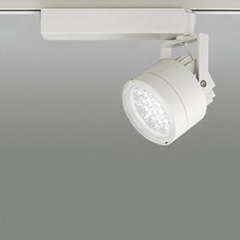 【送料無料】オーデリック LEDスポットライト CDM-T35W相当 精肉・青果用 3200K Ra83 配光角59° アイボリーホワイト レール取付専用 XS256453