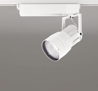 【送料無料】オーデリック LEDスポットライト CDM-T150W相当 3000K Ra83 配光角52° オフホワイト レール取付専用 XS411123