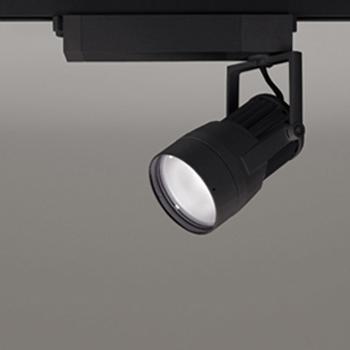 【送料無料】オーデリック LEDスポットライト CDM-T70W相当 3500K Ra83 配光角14° ブラック レール取付専用 XS411134