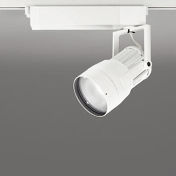 【送料無料】オーデリック LEDスポットライト CDM-T70W相当 3500K Ra83 配光角スプレッド オフホワイト レール取付専用 XS411157
