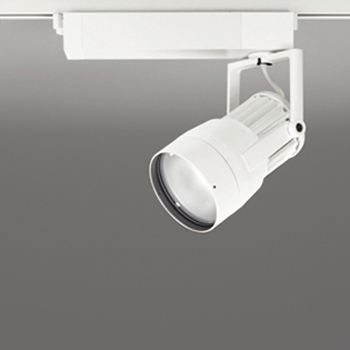 【送料無料】オーデリック LEDスポットライト CDM-T70W相当 4000K Ra83 配光角14° オフホワイト レール取付専用 XS411161