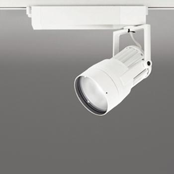 【送料無料】オーデリック LEDスポットライト CDM-T70W相当 3500K Ra83 配光角スプレッド オフホワイト レール取付専用 XS411187