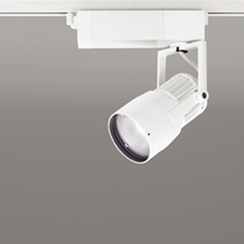 【送料無料】オーデリック LEDスポットライト CDM-T35W相当 4000K Ra83 配光角31° オフホワイト レール取付専用 XS412113