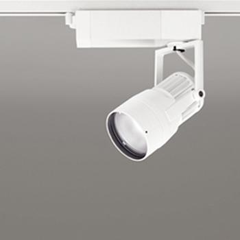 【】オーデリック LEDスポットライト CDM-T35W相当 3500K Ra83 配光角スプレッド オフホワイト レール取付専用 XS412127:あかり電材 店