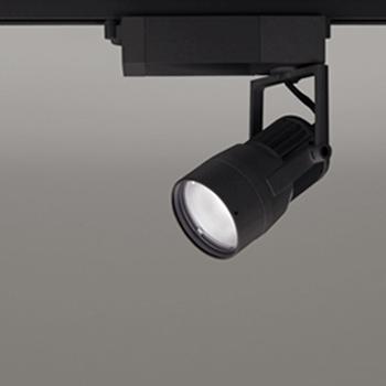 【送料無料】オーデリック LEDスポットライト CDM-T35W相当 3500K Ra83 配光角14° ブラック レール取付専用 XS412134