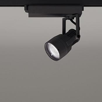 【送料無料】オーデリック LEDスポットライト JR12V50W相当 3000K Ra83 配光角スプレッド ブラック レール取付専用 XS413130