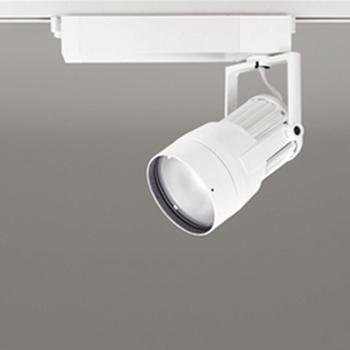 【送料無料】オーデリック LEDスポットライト CDM-T150W相当 4000K Ra95 配光角52° オフホワイト レール取付専用 XS411119H