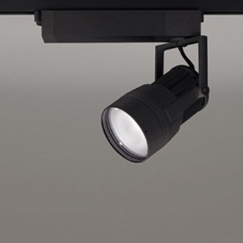 【送料無料】オーデリック LEDスポットライト CDM-T150W相当 3000K Ra95 配光角52° ブラック レール取付専用 XS411124H