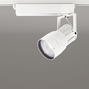 【送料無料】オーデリック LEDスポットライト CDM-T150W相当 3000K Ra95 配光角スプレッド オフホワイト レール取付専用 XS411129H