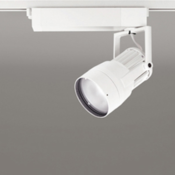 【送料無料】オーデリック LEDスポットライト CDM-T70W相当 4000K Ra95 配光角スプレッド オフホワイト レール取付専用 XS411155H