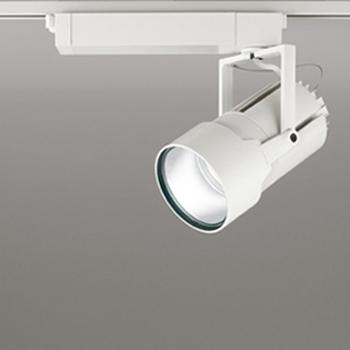 【送料無料】オーデリック LEDスポットライト セラミックメタルハライド150W相当 3500K Ra83 配光角34° オフホワイト レール取付専用 XS414005