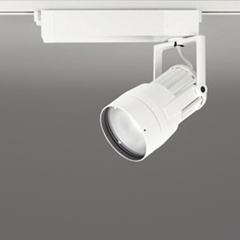 【送料無料】オーデリック LEDスポットライト CDM-T35W相当 生鮮用 3500K 配光角22° オフホワイト レール取付専用 XS411203