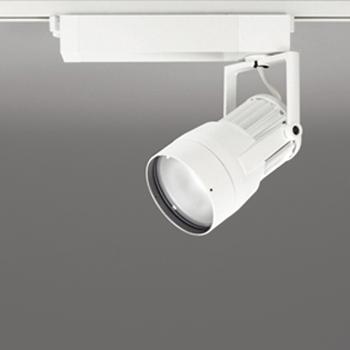 【送料無料】オーデリック LEDスポットライト CDM-T35W相当 生鮮用 3500K 配光角14° オフホワイト レール取付専用 XS411211