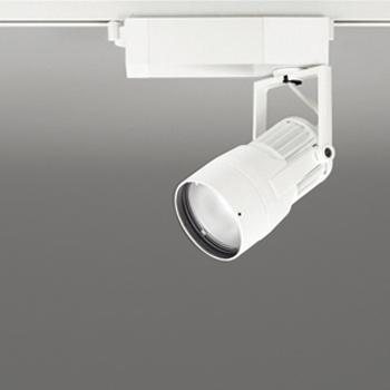 【送料無料】オーデリック LEDスポットライト JDR75W相当 生鮮用 3500K 配光角14° オフホワイト レール取付専用 XS412171