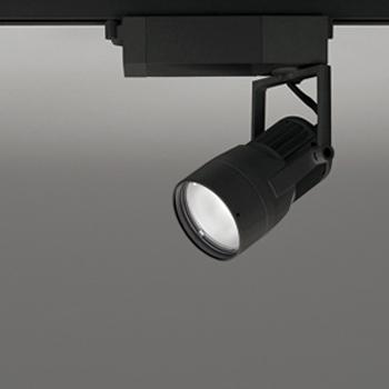 【送料無料】オーデリック LEDスポットライト JDR75W相当 生鮮用 3500K 配光角スプレッド ブラック レール取付専用 XS412180