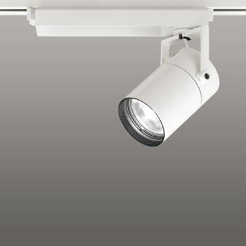 【送料無料】オーデリック LEDスポットライト CDM-T70W相当 3500K Ra83 配光角23° オフホワイト レール取付専用 XS511109