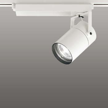 【送料無料】オーデリック LEDスポットライト CDM-T70W相当 3000K Ra95 配光角61° オフホワイト レール取付専用 XS511123H